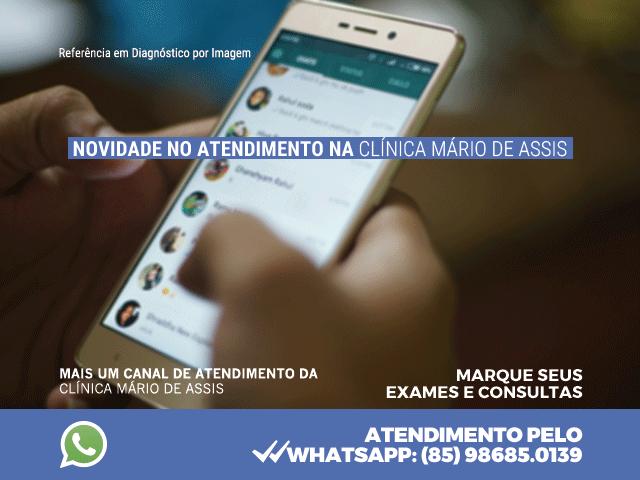 Novidade no Atendimento: WhatsApp